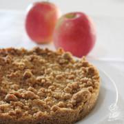 Torta di mele senza burro con farina integrale
